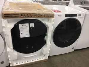 NEW! Whirlpool Washer And Electric Dryer Set! WASHER NEW IN BOX! 📦 for Sale in Chandler, AZ