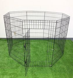 """$45 (brand new) dog playpen 8-panel x (42"""" tall x 24"""" wide) for Sale in Whittier,  CA"""