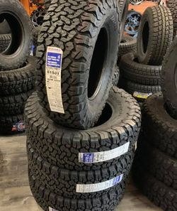 """17"""" BF GOODRICH KO2 Tires Sale BRAND NEW Size LT 285/70R17 ....$219 Each Pricing Limited Time Only WE FINANCE EVERYONE for Sale in Huntington Beach,  CA"""