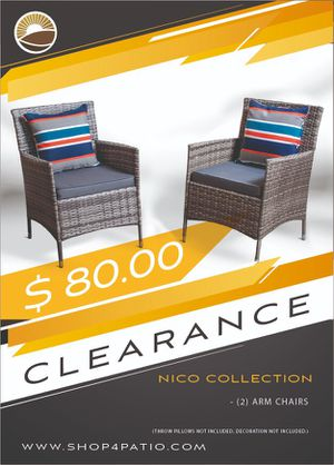 Beautiful outdoor furniture set available for sale at shop4patio for Sale in Sanford, FL