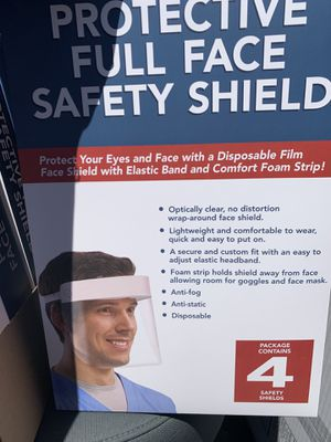 FACE SHIELD for Sale in North Potomac, MD