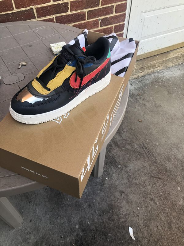 Air Force 1 low bhm black history month 9 9.5