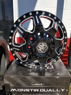 """17"""" Chevy &dodge dually wheels finance available $39 down for Sale in Tulsa, OK"""