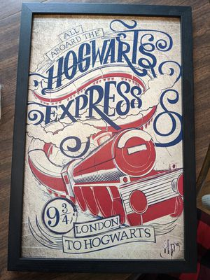 Harry Potter Hogwarts Express Wall Art for Sale in Knoxville, TN