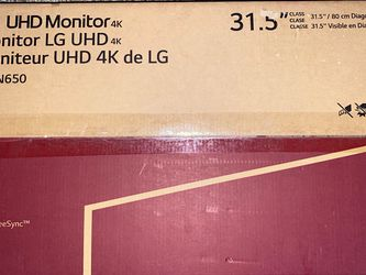 """LG UDH 4K Monitor 32"""" for Sale in Hyattsville,  MD"""