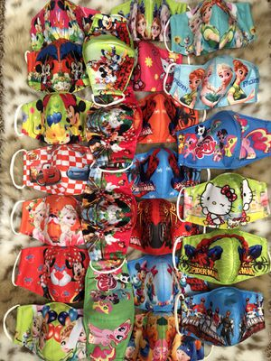 wholesale cloth masks for kids for Sale in Wichita, KS
