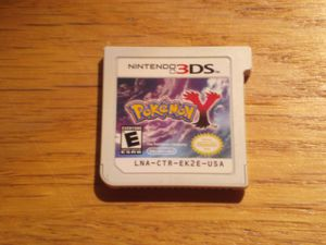 Pokemon Y Nintendo 3DS cartridge for Sale in Tustin, CA