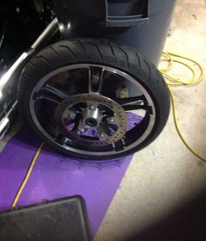 "19"" rim, tire and rotors for sale. $150 for Sale in McDonough, GA"