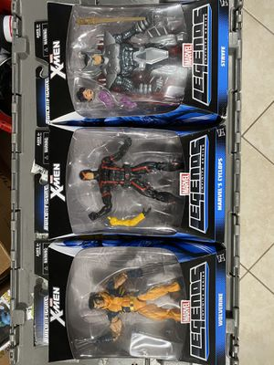 Marvel legends X-men figures for Sale in Port Richey, FL
