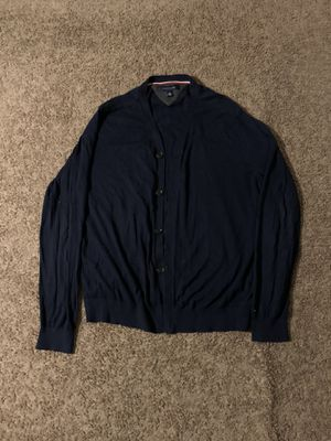 Blue Tommy Hilfiger cardigan for Sale in Lorain, OH