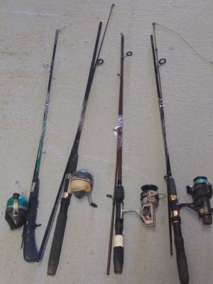 Fishing rod with reel for Sale in Baltimore, MD