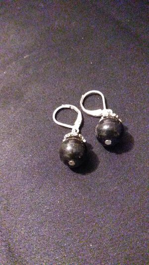 Black Bead Earrings for Sale in North Richland Hills, TX