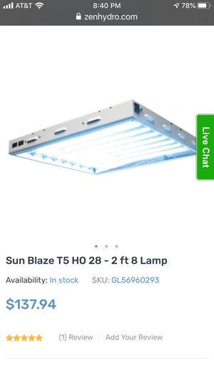 Sun Blaze T5 lamps- hydro, 3 total for Sale in San Ramon, CA
