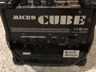 Roland Micro Cube Guitar Amp for Sale in Vancouver,  WA