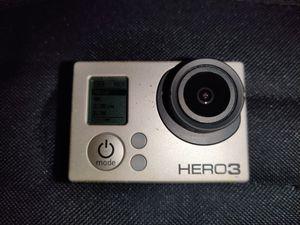 GoPro hero 3 black edition for Sale in Miramar, FL