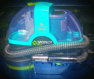 Bissell Spotbot Pet 1-Speed 0.2-Gallon Portable Carpet Cleaner 21142 for Sale in Fairfax, VA