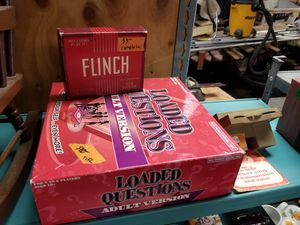 Board games $2-$10 ea. Flinch $3 Loaded Questions $5 Puzzle $2 Viewmaster $10 for Sale in Portland, OR