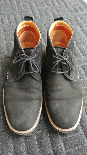 Men's Ecco chukka leather suede boots walking work comfortable shoes boots for Sale in Kent, WA
