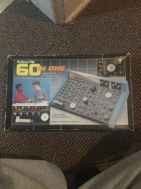 Vintage 60 in One Electronic Project Lab