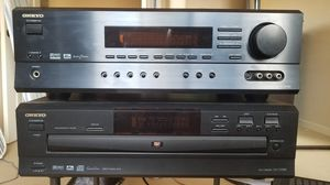 Onkyo Receiver and DVD player for Sale in Solana Beach, CA