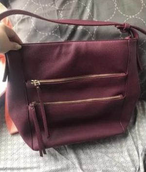 Charming Charlie maroon purse for Sale in Blythewood, SC