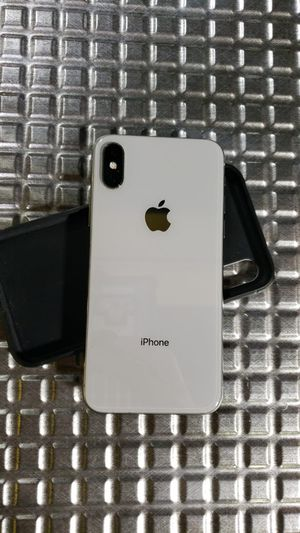 iPhone X silver 64gb unlock for Sale in The Bronx, NY