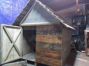 Handcrafted woodworks dog house customers request for Sale in Henderson, KY