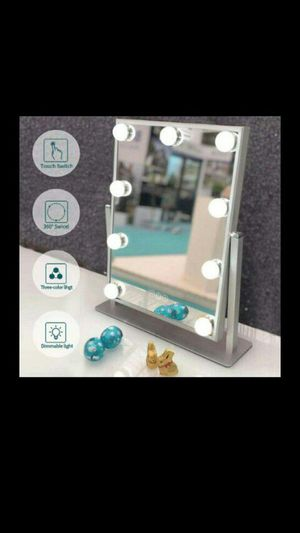 Hollywood Makeup Vanity Mirror with dimmable lights for Sale in Long Beach, CA