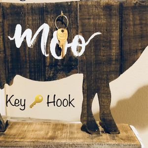 MOO - FARMHOUSE KITCHEN DECOR 15 INCHES LONG for Sale in Claremont, CA