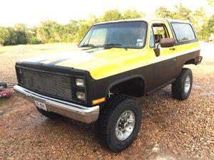 Chevy K5 / K20 Blazer 4x4 off road crawler Project Truck for Sale in La Grange, TX