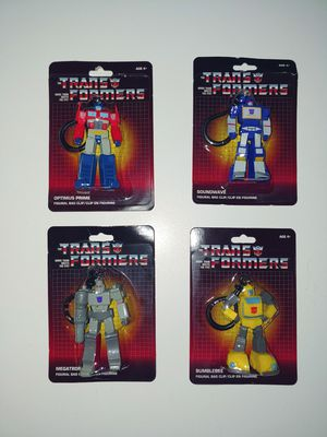 Transformers G1 Keychain Bag Clip toy collectable for Sale in Clermont, FL