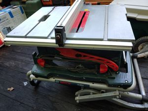 Bosch 4100-10 10 In. Worksite Table Saw With Gravity-rise Wheeled Stand TS3000 for Sale in Gambrills, MD