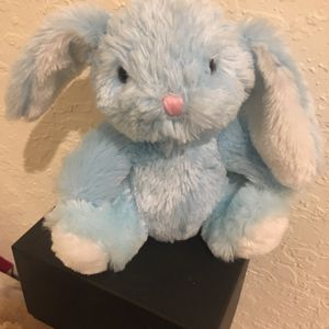 """Vintage Dan Dee Collectors Choice BUNNY BABY BLUE Huggable 8"""" Floppy Ears Pink Nose RARE for Sale in Fort Lauderdale, FL"""