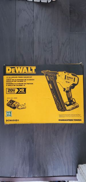 Dewalt XR Finish Nailer Kit for Sale in Chicago, IL