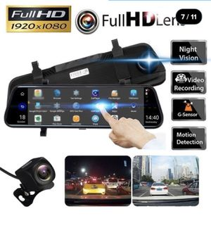 Brand new sealed in box mirror mounted dash and reverse camera for Sale in Miami, FL