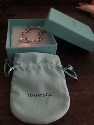 """Tiffany & Co. """"Please Return To Tiffany & Co"""" Sterling Silver Tag Charm Bracelet 7.0″ for Sale in Fort Worth, TX"""