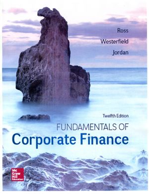 Fundamentals of Corporate Finance 12th Edition by Ross, Westerfield, and Jordan for Sale in San Dimas, CA