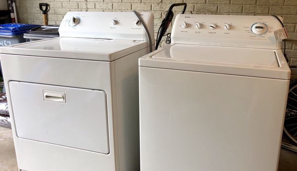 Kenmore washer & dryer