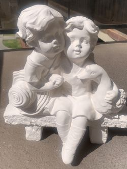 Children On Bench Statue for Sale in Whittier,  CA