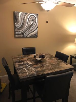 Only kitchen table and chairs for Sale in Burke, VA