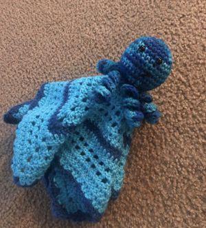 Octopus crochet baby lovey blanket baby shower gift for Sale in Manteca, CA