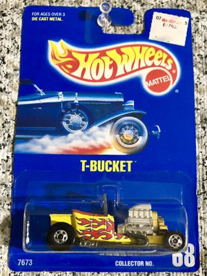 Used, HOT WHEELS T-BUCKET #68 Mainline DieCast Car MOC ALL BLUE CARD COMPLETE 1991 for Sale for sale  Torrance, CA