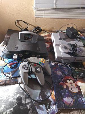 Super Nintendo & Nintendo 64 for Sale in Salinas, CA