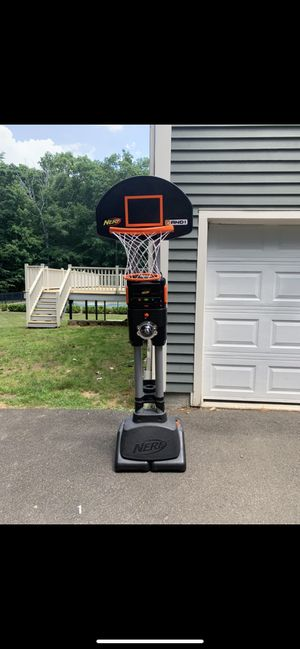 Nerd basketball hoop for Sale in Guilford, CT