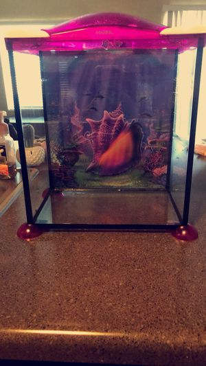Pink Fish tank for Sale in West Valley City, UT