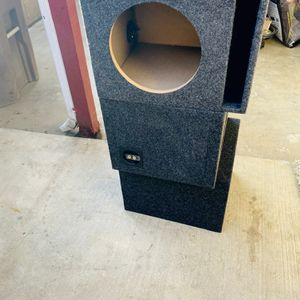 $60 each - 2 Left- New Single 10 inch ported sub boxes for Sale in Sanger, CA