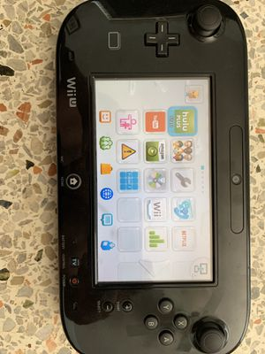 Nintendo Wii U 32GB Black Console with 6 games and accessories - $130 for Sale in Coral Gables, FL