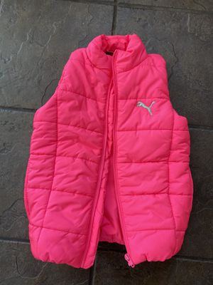 Hot pink Puma XS vest with pockets for Sale in Gardena, CA