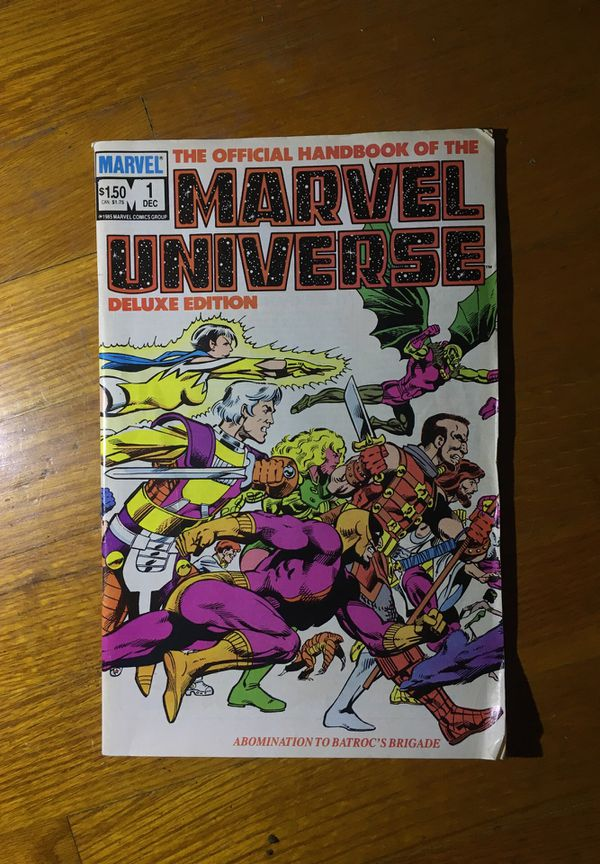 Vintage, retro Marvel comic book