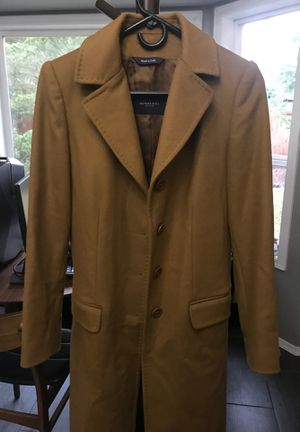 Burberry cashmere long coat size small for Sale in Tacoma, WA